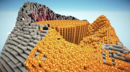 Volcano Minecraft Map & Project