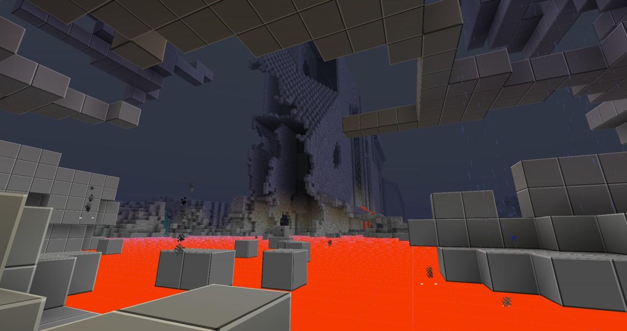 Ship crash Minecraft Project
