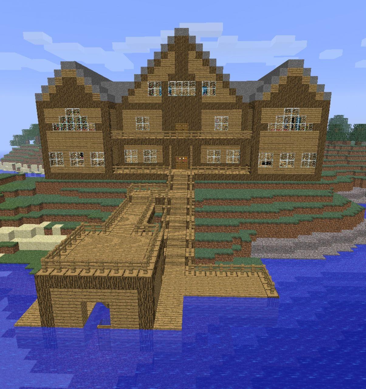 Massive Log Cabin Minecraft Project