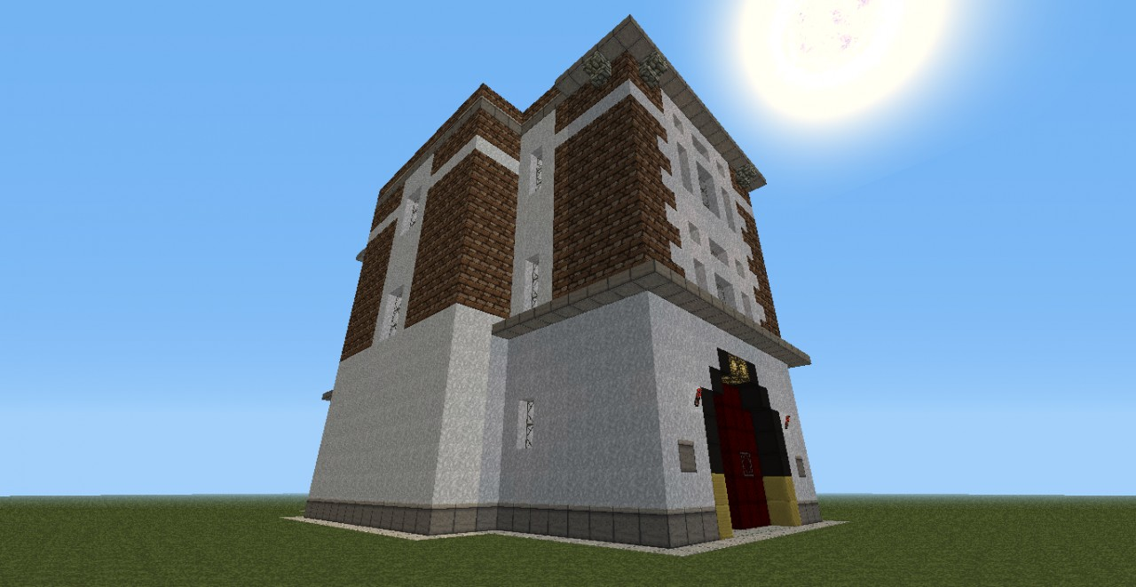 Added Windows to side and rear of building