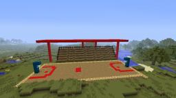 Basketball Stadium Minecraft Map & Project