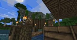 Lakeside Vacation Home (Download now available) Minecraft Map & Project