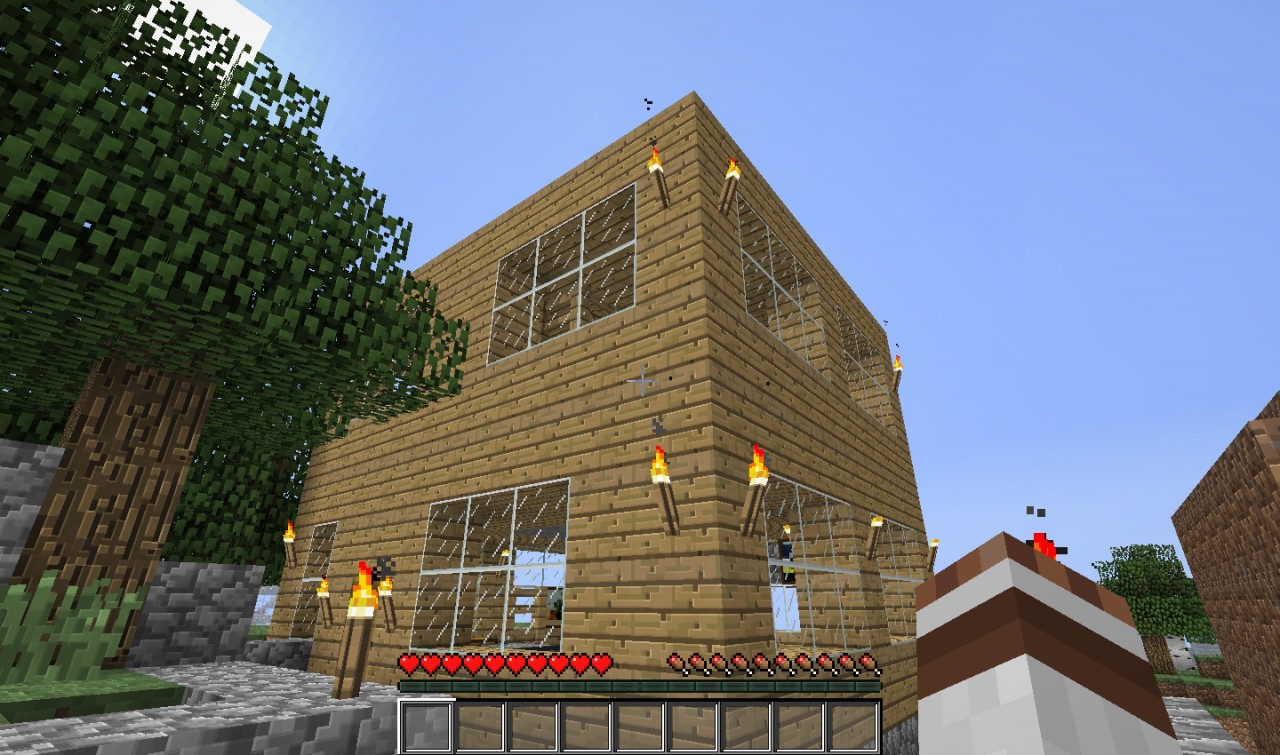 Best minecraft house ever made 2017 2018 best cars reviews for Who invented houses