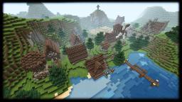 Tawero. Nordic Village / Nordic Building Bundle+Download Minecraft Map & Project
