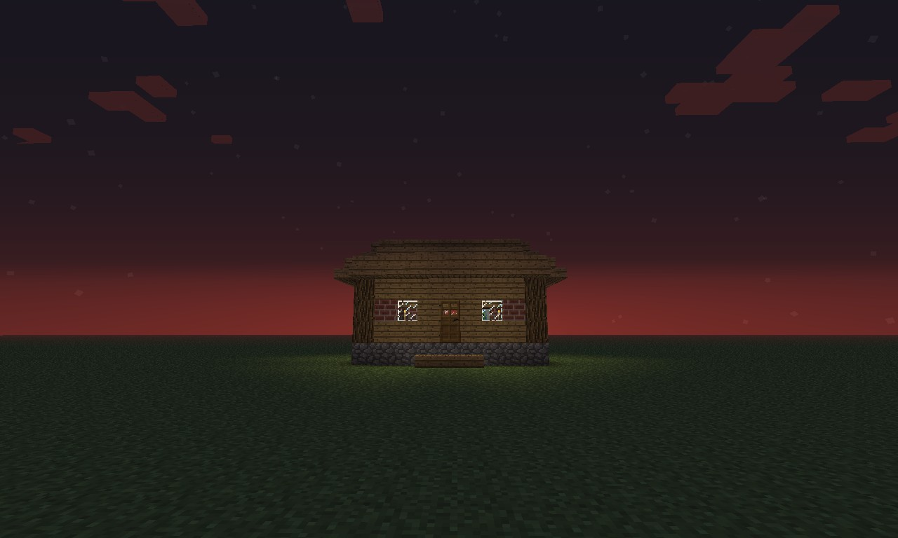 How To Build A Small Wooden House Minecraft Blog
