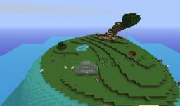 Survival Island - HARDCORE MODE! - TEMPLE SECRET Minecraft Map & Project
