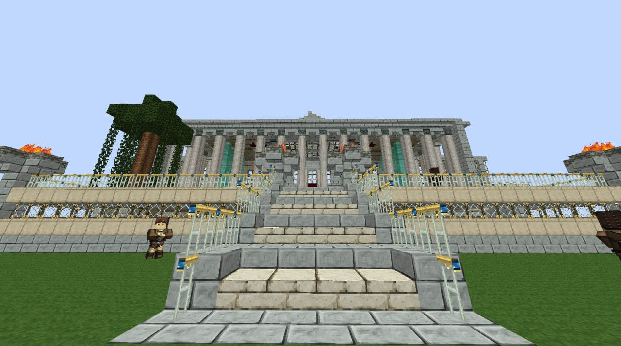 Roman Palace Minecraft Project