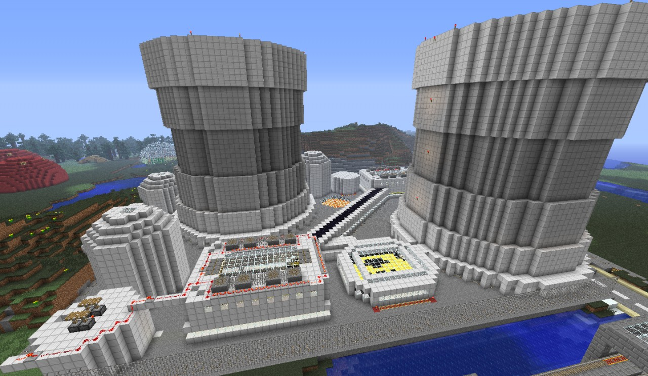 nuclear power plant minecraft project rh planetminecraft com Nuclear Reactor Schematic Parts of a Nuclear Power Plant