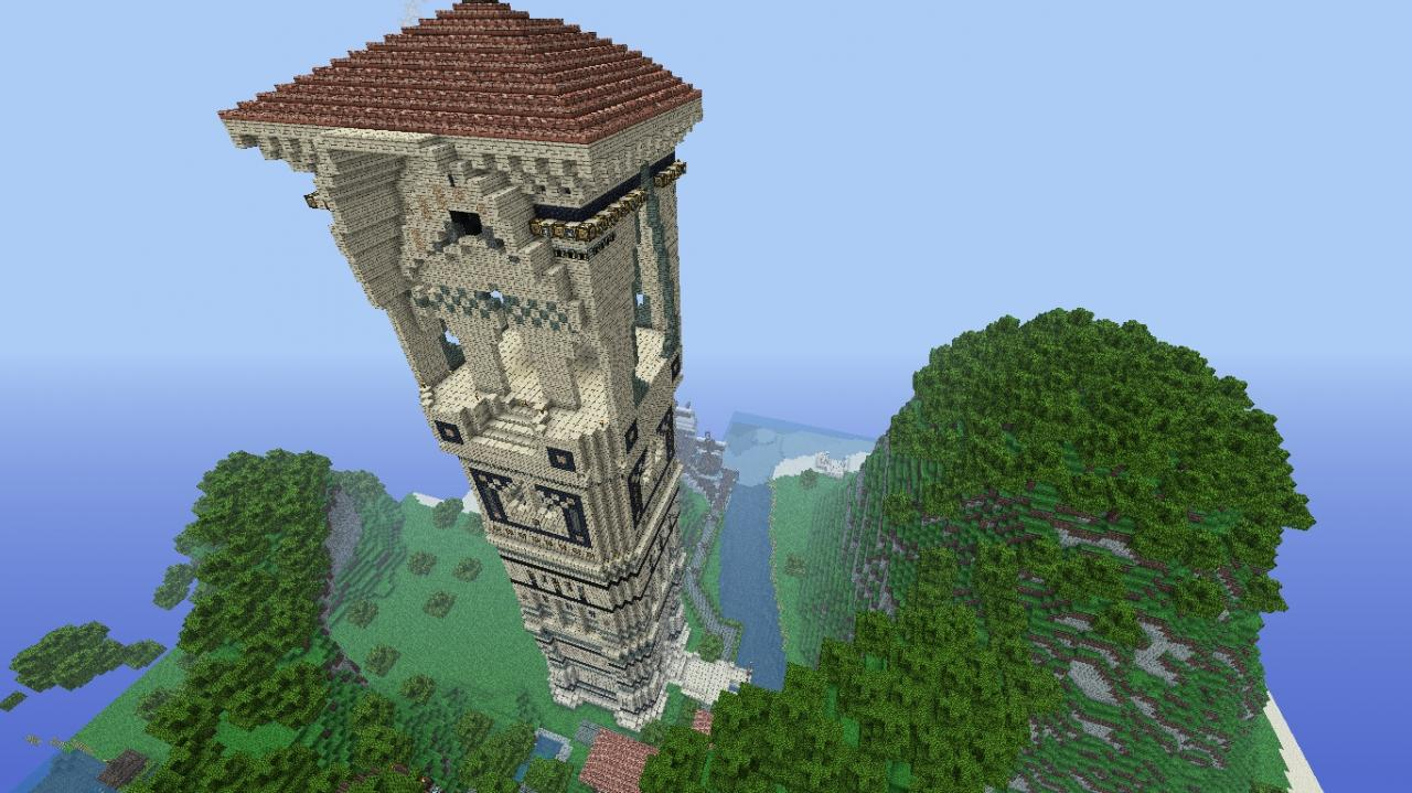 The Florence Tower My First Project Minecraft Project