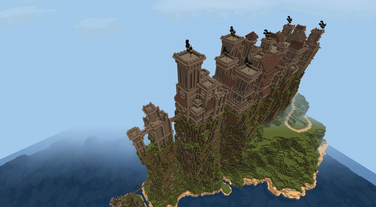 Pyke Castle Minecraft Project