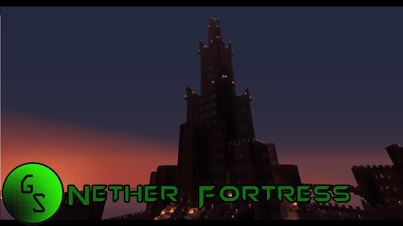 Minecraft Nether Fortress Inside Nether Fortress Minecraft