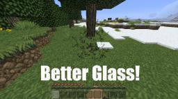 BetterGlassMod. [1.2.4] Minecraft Mod