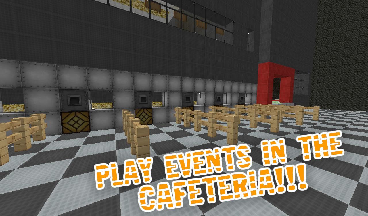 Special events like Skin Contests, Treasure Hunt, Hide'n'Seek. A lot of fun! =)