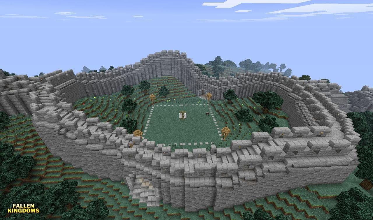 Fallen kingdoms season 3 the wall of china minecraft for A grande muralha da china