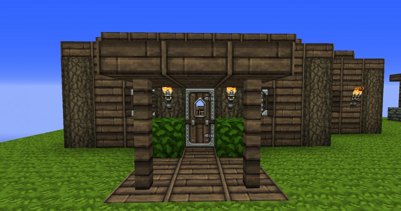 how to make a working fridge in minecraft