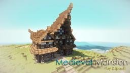 Medieval Mansion || + DOWNLOADLINK! Minecraft Map & Project