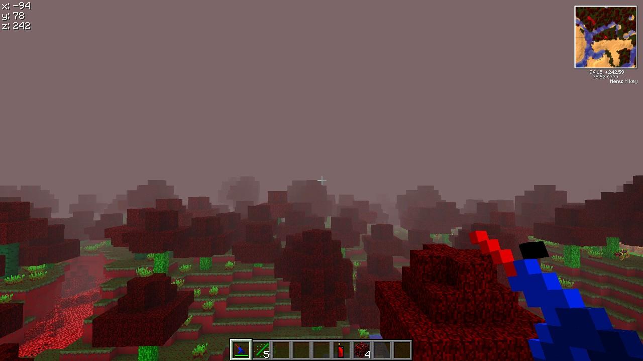 Reddish Fog + Lazer gun improved.