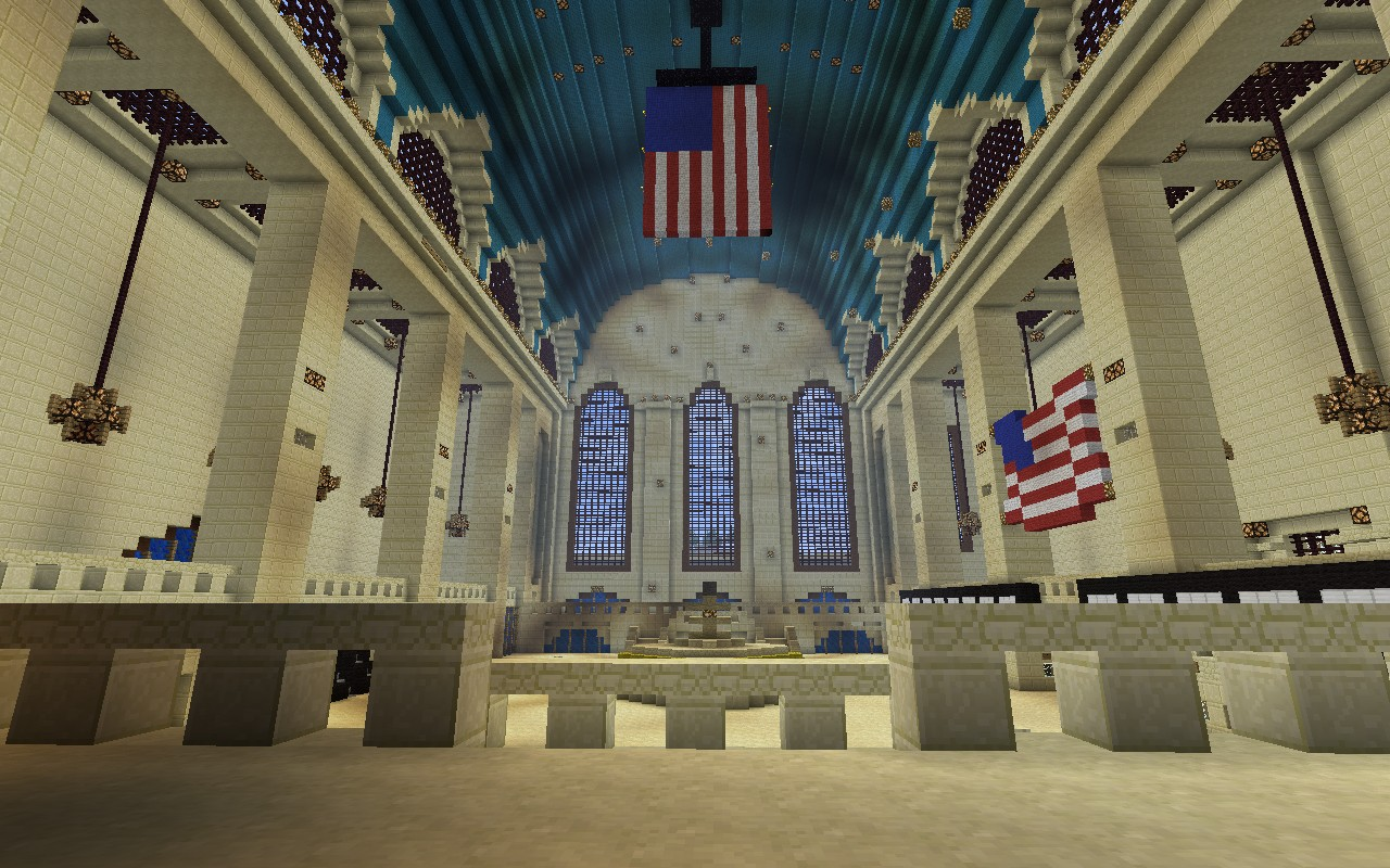 Grand Central Station Minecraft Project