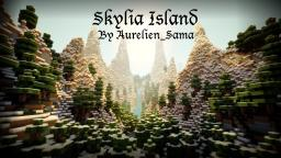 [1.5 Ready!] Skylia Island - Skyrim inspired custom terrain with cinematic, ores, caves, etc Minecraft Map & Project