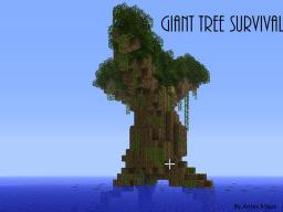 Giant Tree Survival Minecraft Map & Project