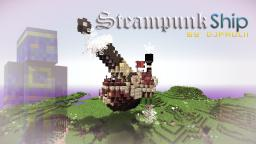 Steampunk Ship by DJpaulii || + DOWNLOAD!! Minecraft Project