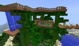 HUGE TREEHOUSE!+ DOWNLOAD! Minecraft Map & Project