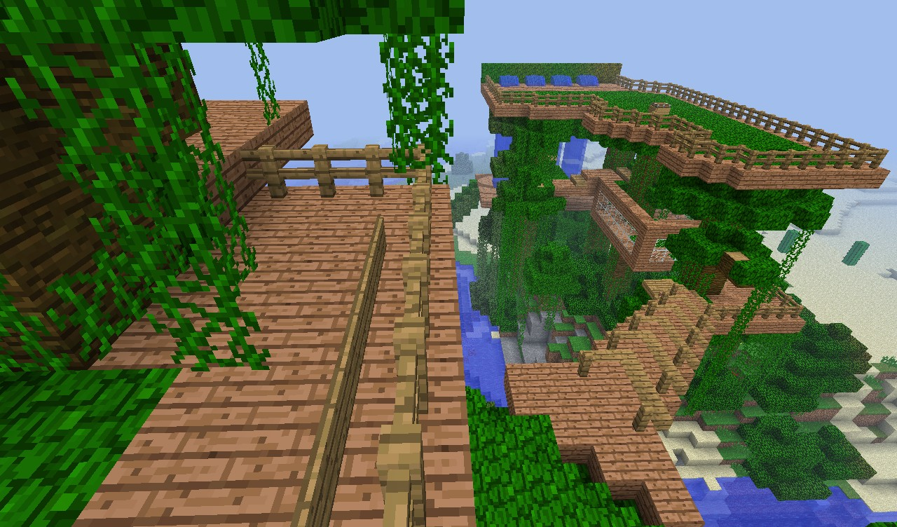 HUGE TREEHOUSE DOWNLOAD Minecraft Project