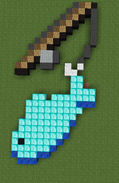 How To Craft A Fish Rod In Minecraft