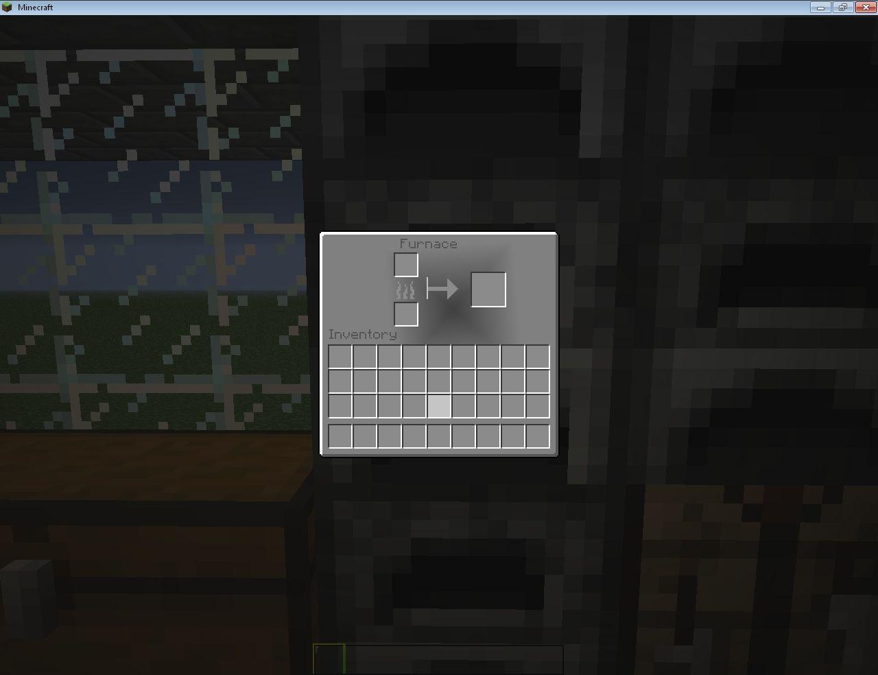 the furnace GUI