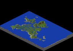 Rain Forest Island Minecraft Map & Project
