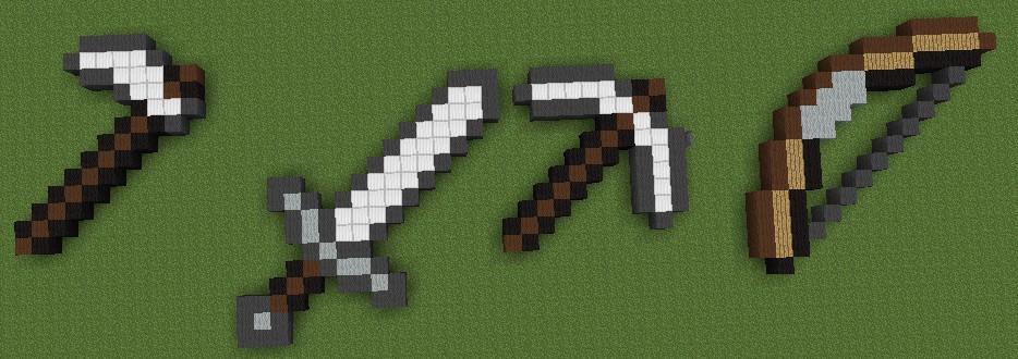Craft Weapon Minecraft