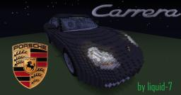 Porsche 911(996) Carrera NOW WITH DOWNLOAD Minecraft Map & Project