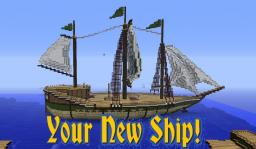 Your New Ship! [With Schematic!] Minecraft
