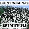 White Winter! Minecraft Texture Pack