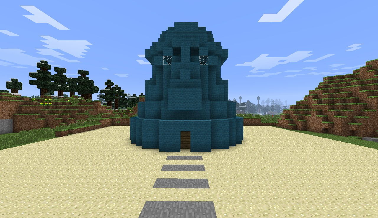 squidward 39 s house minecraft project