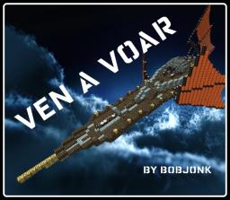 Ven a Voar (steampunk airship) Minecraft Map & Project