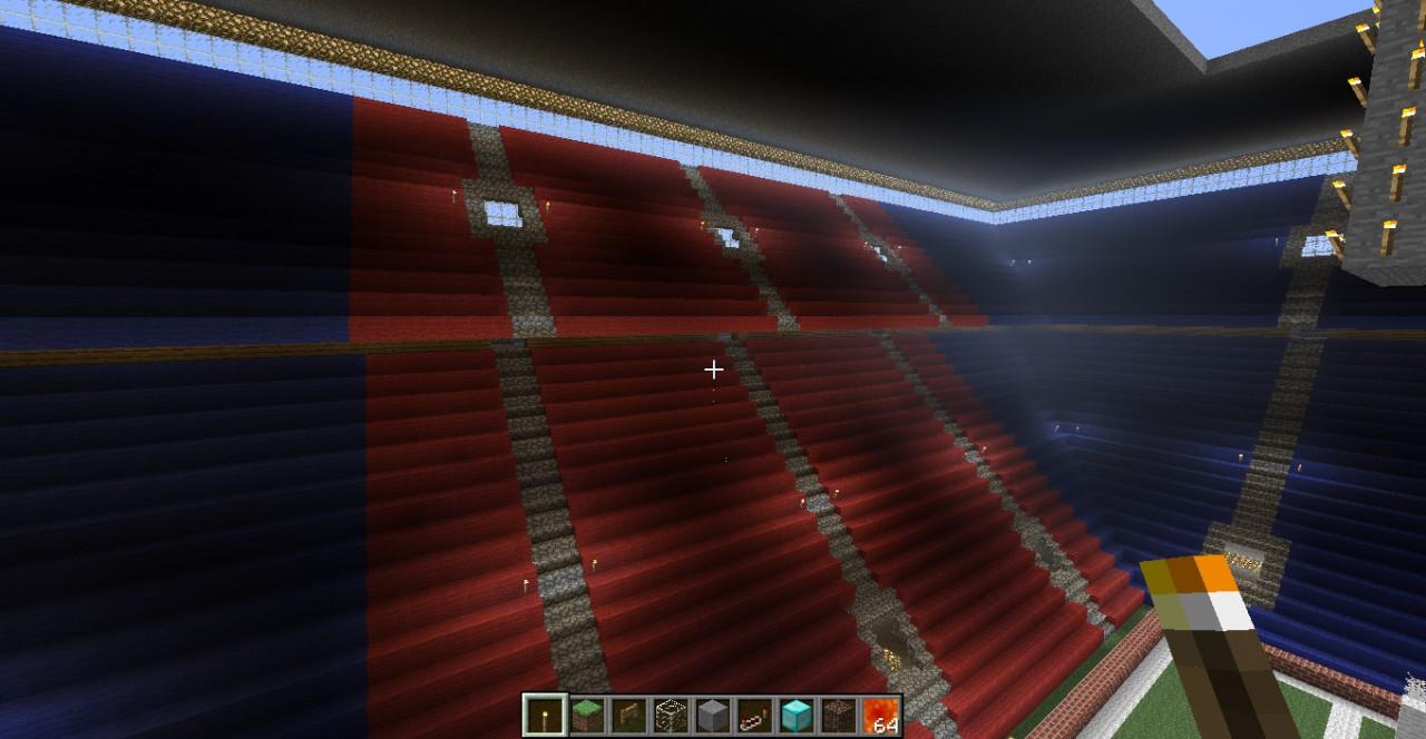 Cool Soccer Stadium Minecraft Project