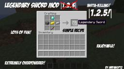 Legendary Sword Mod |1.2.5| Minecraft