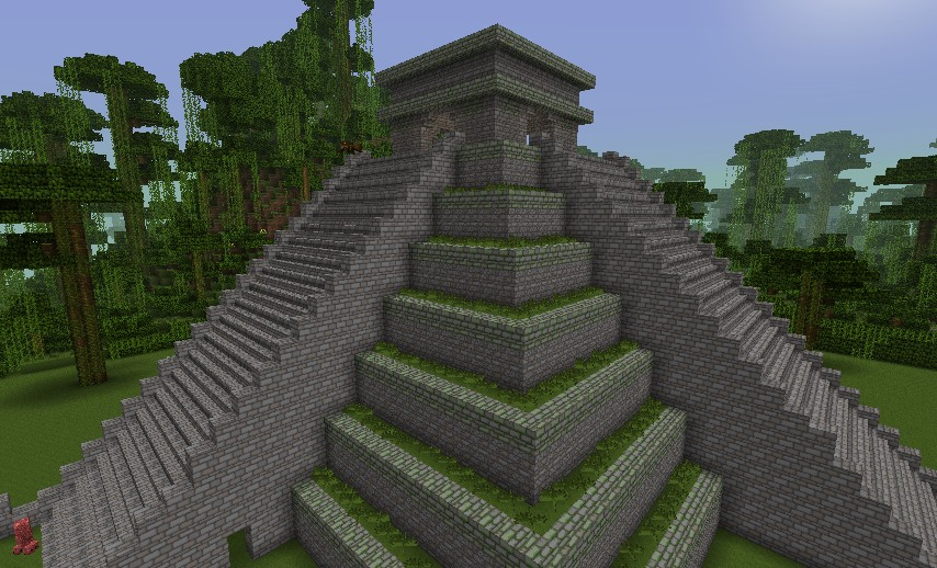 how to make a temple on minecraft