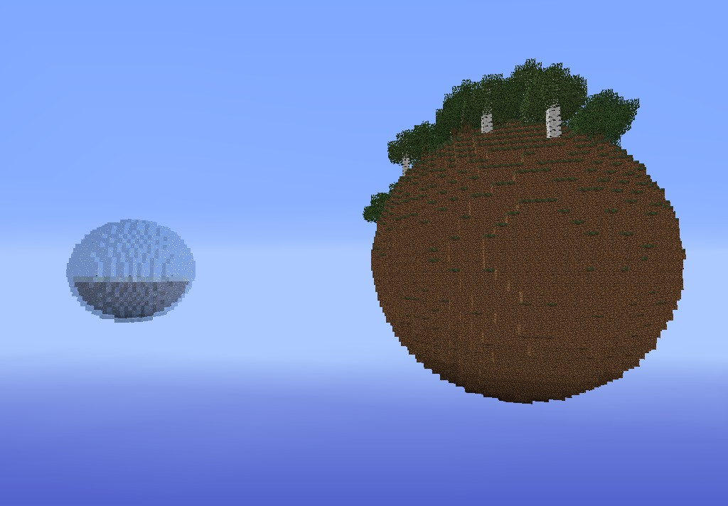 Planet Survival:Survial Map Minecraft Project