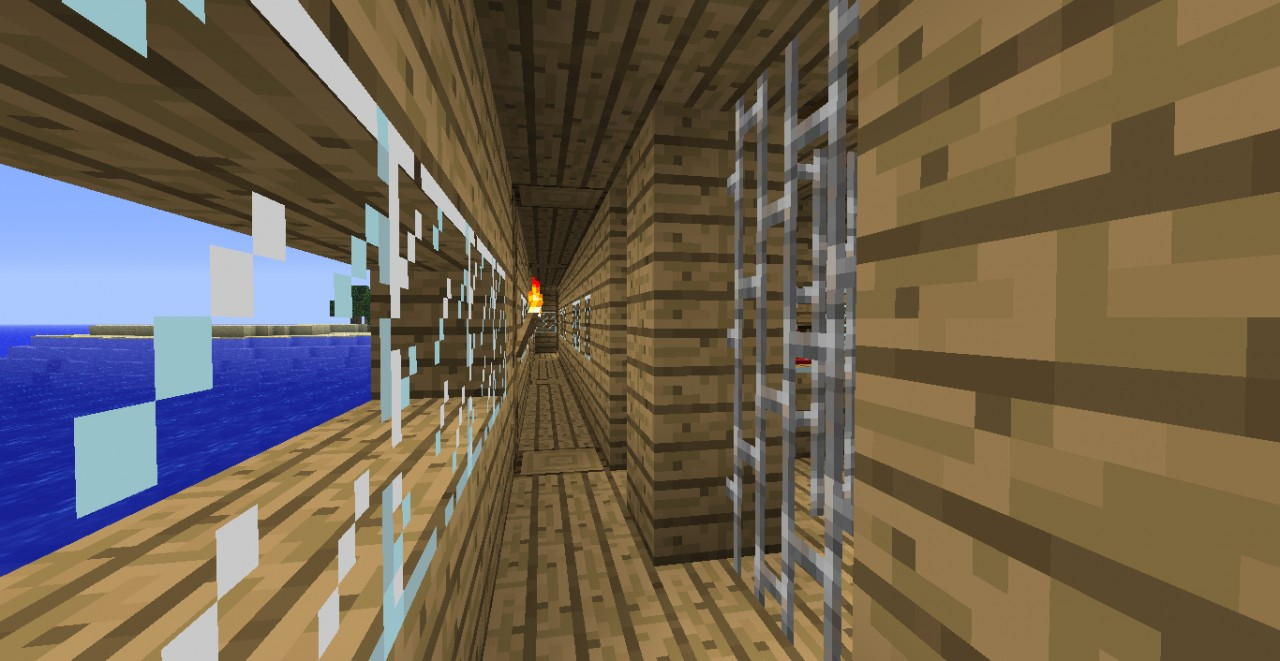 how to get out of boat minecraft