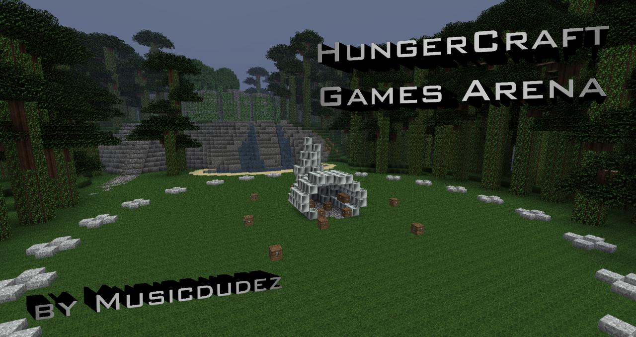 The HungerCraft Games Arena