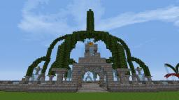 Spawn Fountain Minecraft Map & Project