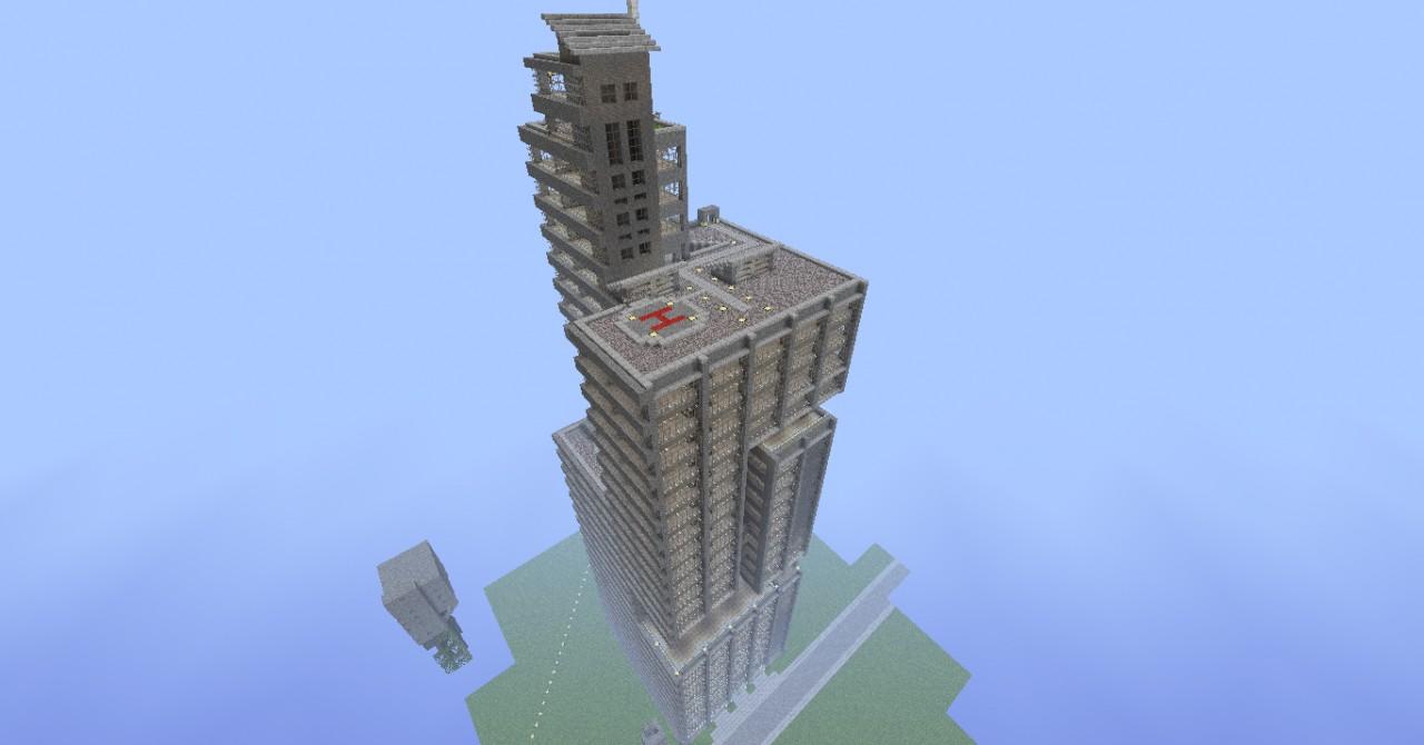 The Problematique Building Skyscraper Minecraft Project