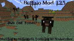 Buffalo NPC Mod V.3.2 |1.2.5| Minecraft
