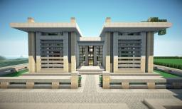 Modern Mansion on World of Keralis Minecraft Map & Project