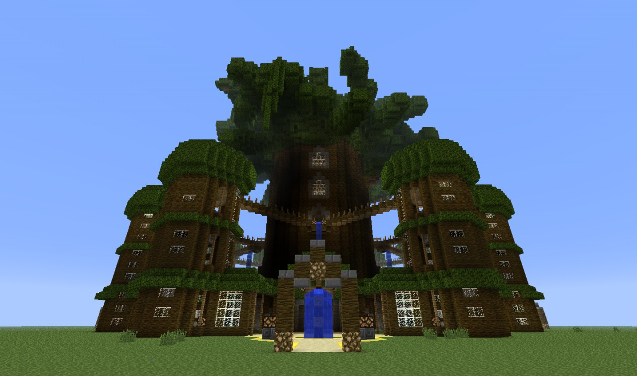 Ancient Tree Minecraft Project