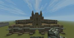 Sandstone Castle - Cathedral Style Minecraft Map & Project