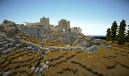 Medieval city - Whiterun inspired Minecraft Project