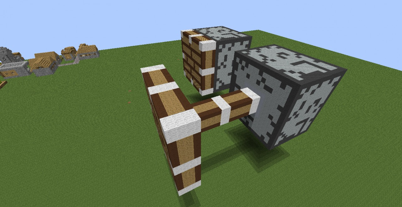 Giant Pistons!! Minecraft Project